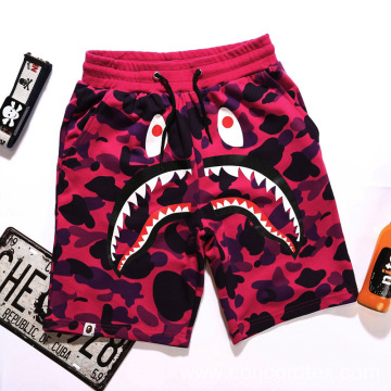 mens designer printed cozy shorts